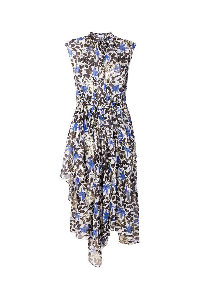 Christian Wijnants daran silk summer dress