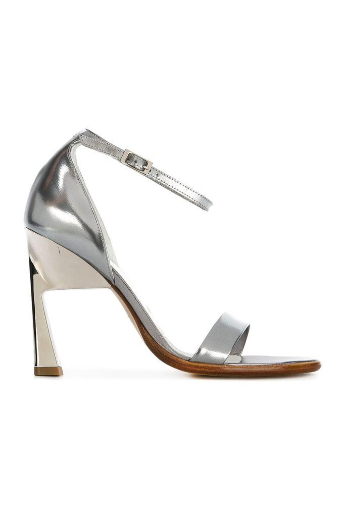 Maison Margiela - laminated leather sandals
