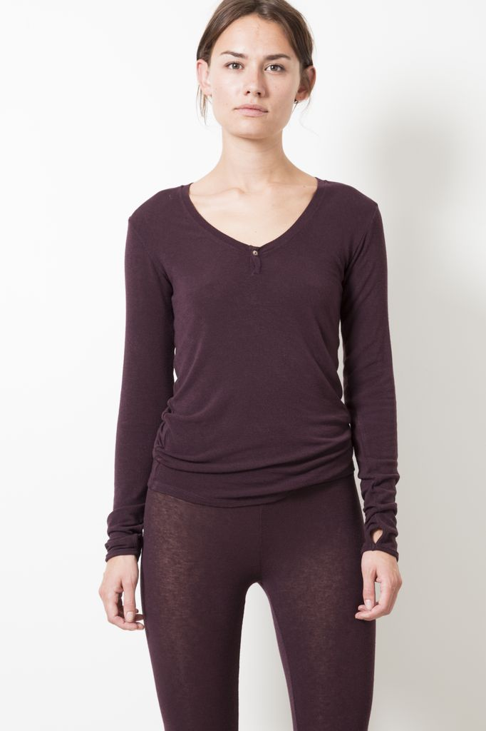 Humanoid THES TENDER LONG SLEEVE T-SHIRT