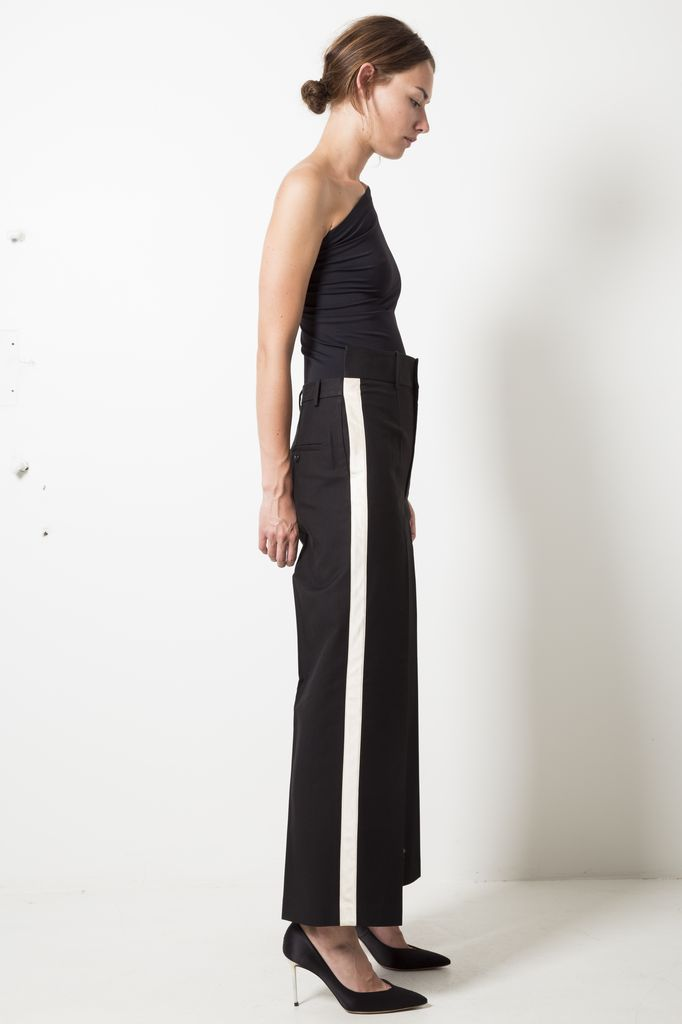 Helmut Lang shifted canvas pant