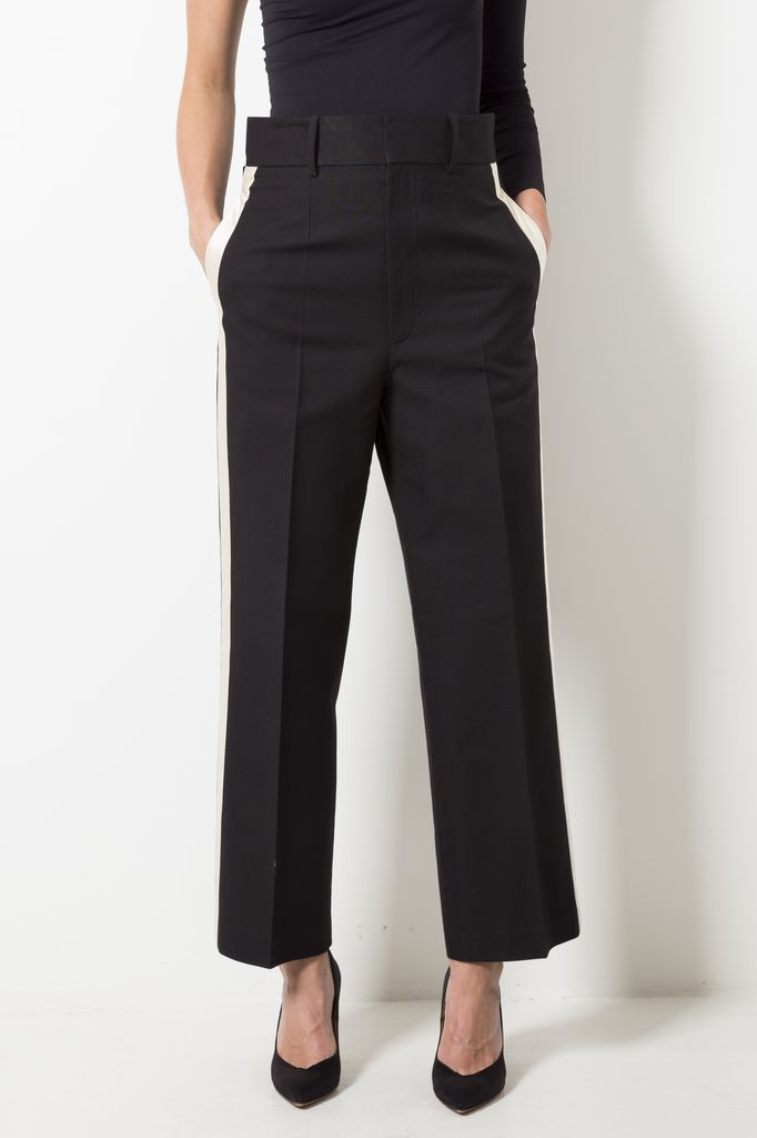 Helmut Lang - shifted canvas pant