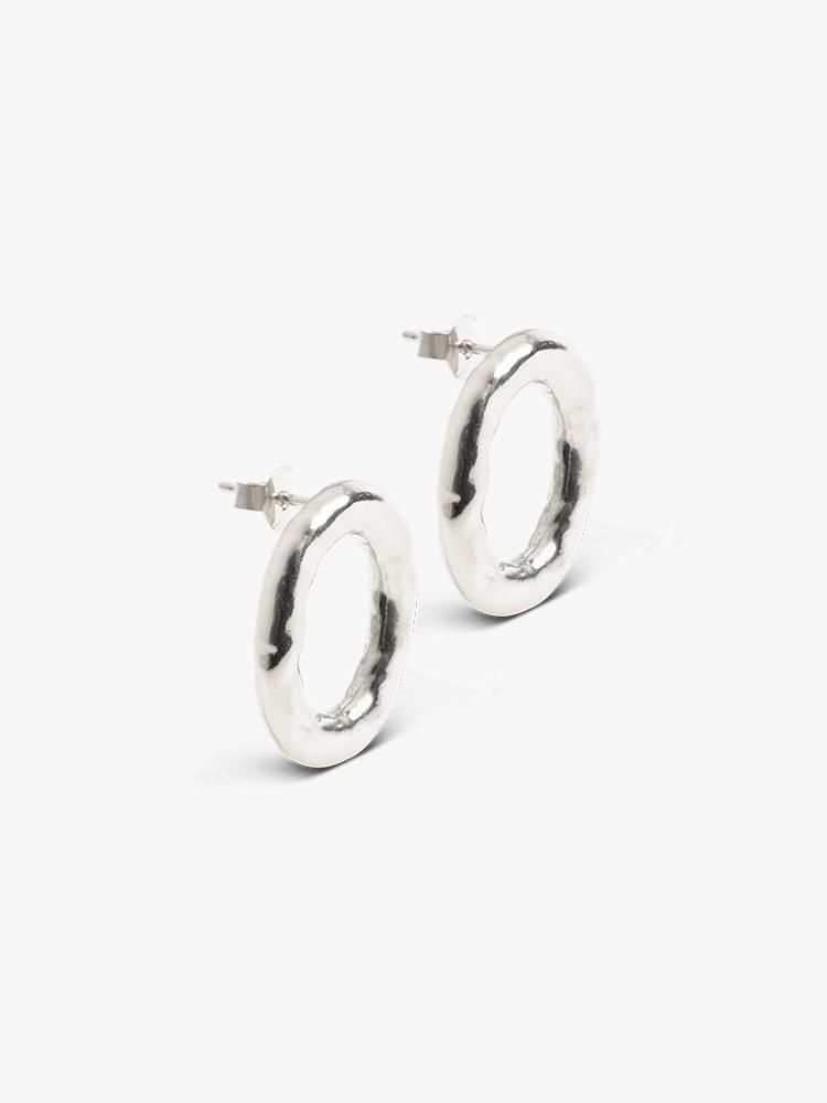 The Boyscouts Earring Verge Round Silver