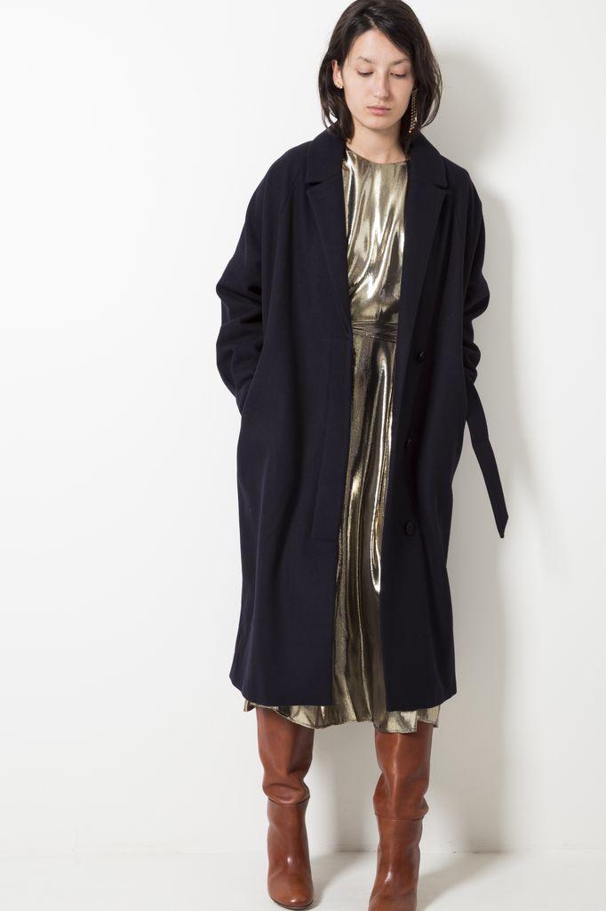 Les Coyotes de Paris Johanna wool blend coat