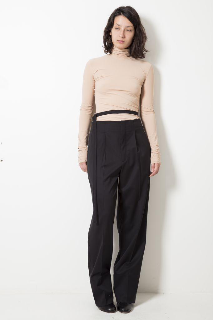 Helmut Lang high waist relaxed pants