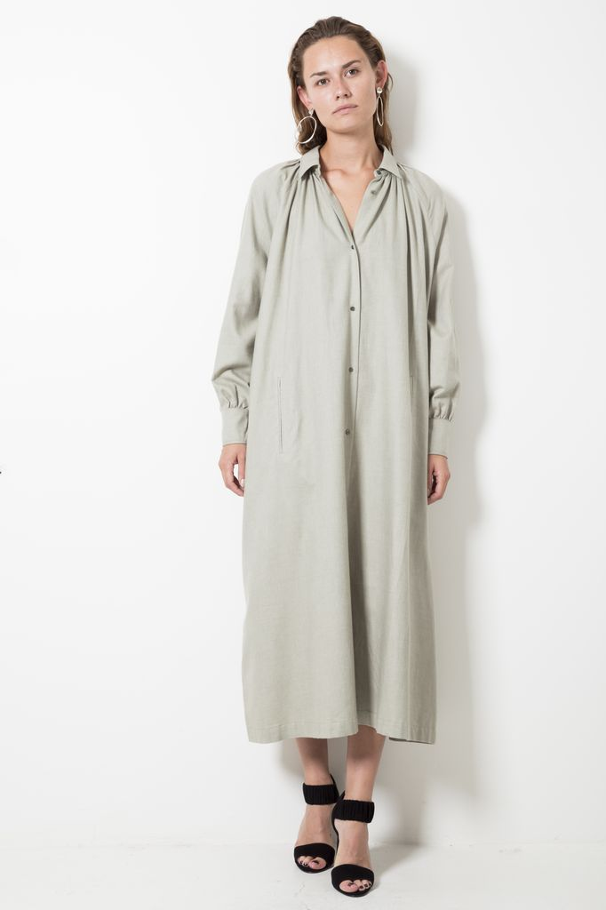 inDRESS COTTON AND CASHMERE SHIRT