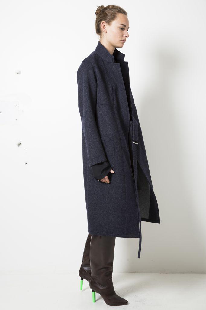 Monique van Heist dustcoat long loden
