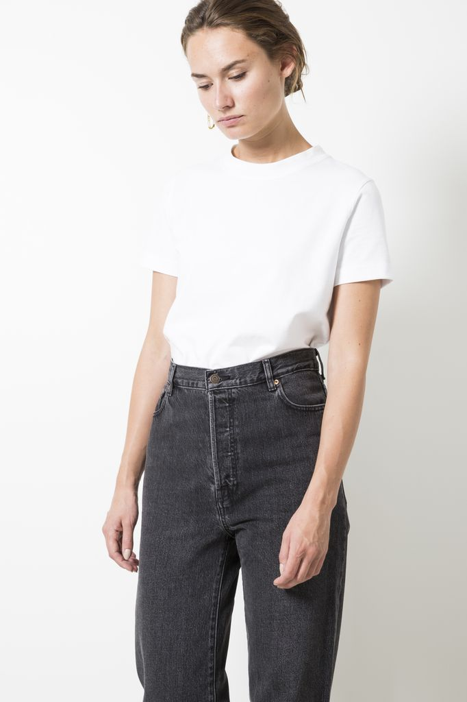 Sofie d'Hoore tear fine cotton jersey t-shirt