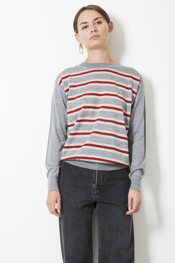 Sofie d'Hoore madrid extra fine merino wool sweater/cardigan