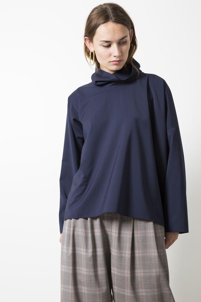 Sofie d'Hoore bright super 120 virgin wool blouse