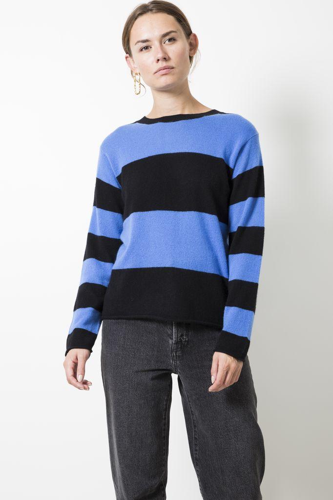 Sofie d'Hoore meadow fine cashmere striped sweater