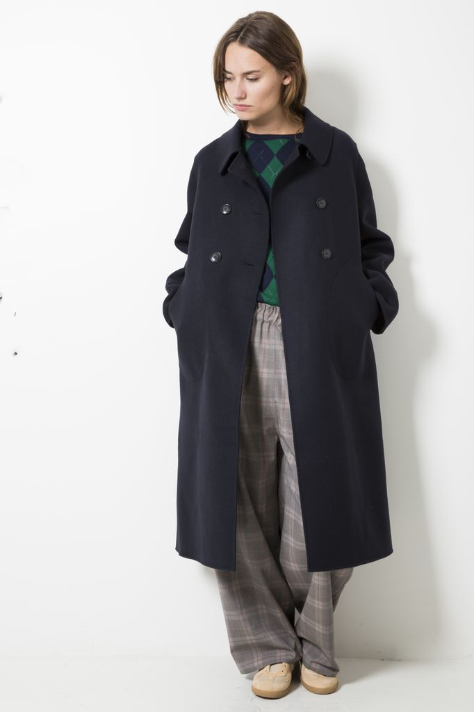 Sofie d'Hoore commit double faced wool coat