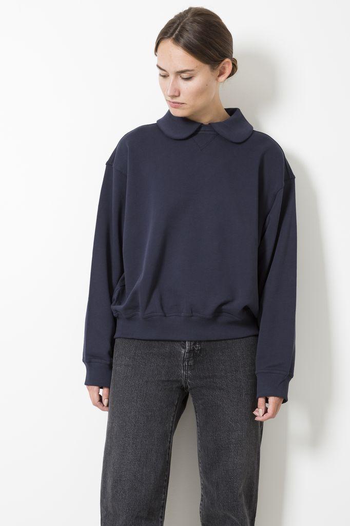 Sofie d'Hoore travel cotton fleece sweater