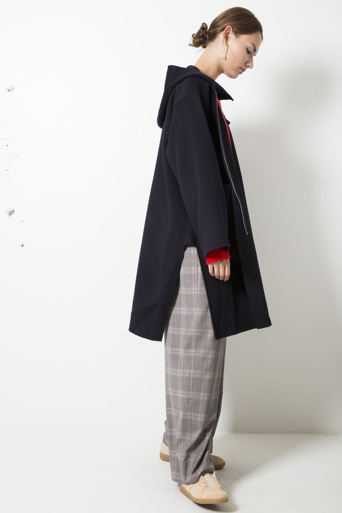 Sofie d'Hoore candia double face wool cashmere coat