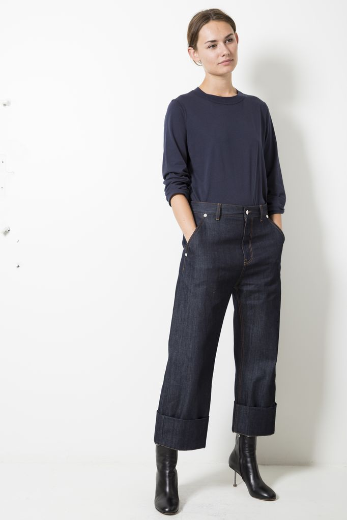 Sofie d'Hoore plaza  cotton denim jeans
