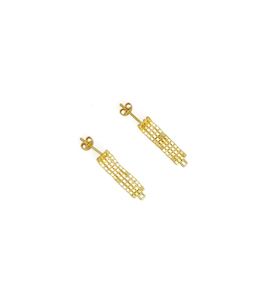 Martine Viergever day or night earrings goldplated silver