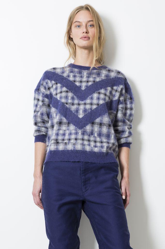 Le Mont Saint Michel Brushed sweater