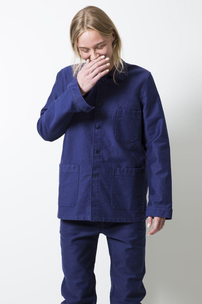 Le Mont Saint Michel - cotton work jacket