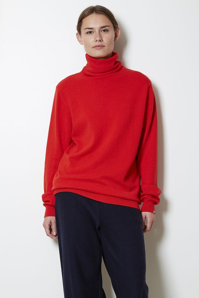 extreme cashmere n°57 be all tutle neck sweater