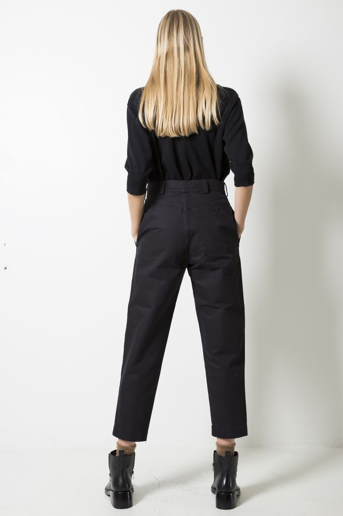 Margaret Howell MHL TAPERED TROUSER DENSE COTTON DRILL