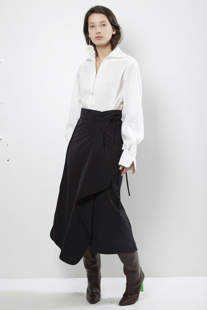 Lemaire TWISTED SKIRT
