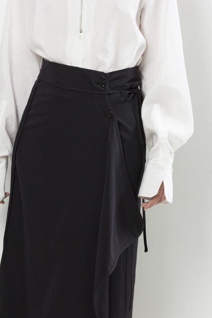 Lemaire - TWISTED SKIRT