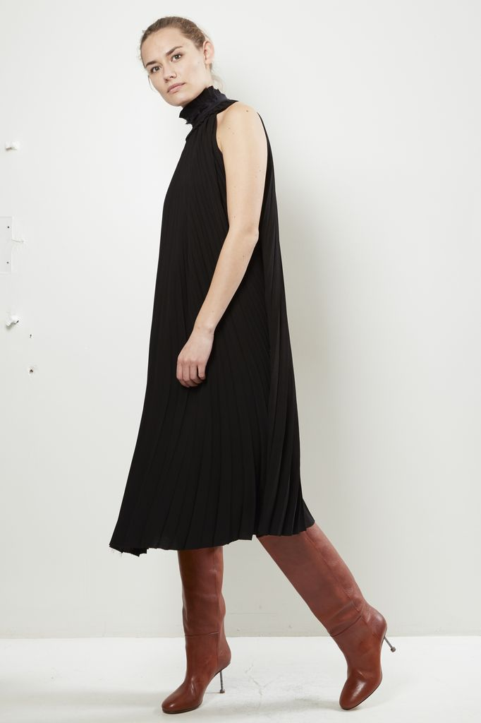 Haider Ackermann Haider Ackermann LONG PLEATED DRESS DURERO