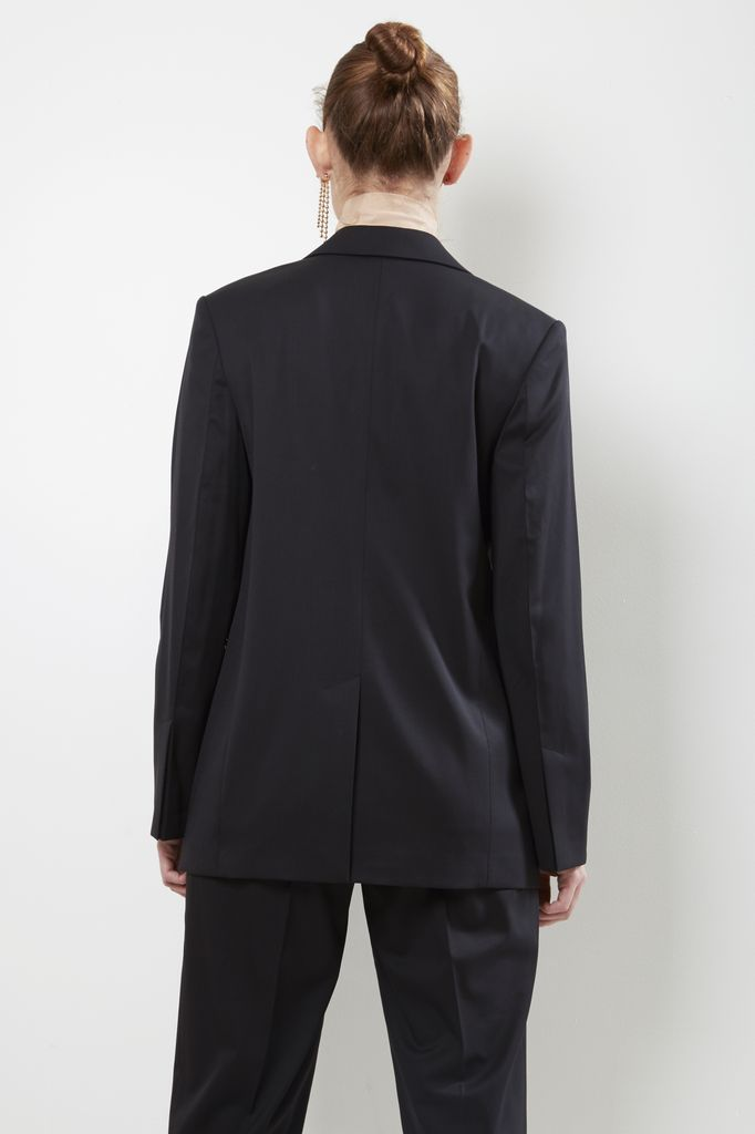 Helmut Lang - peak lapel wool blazer