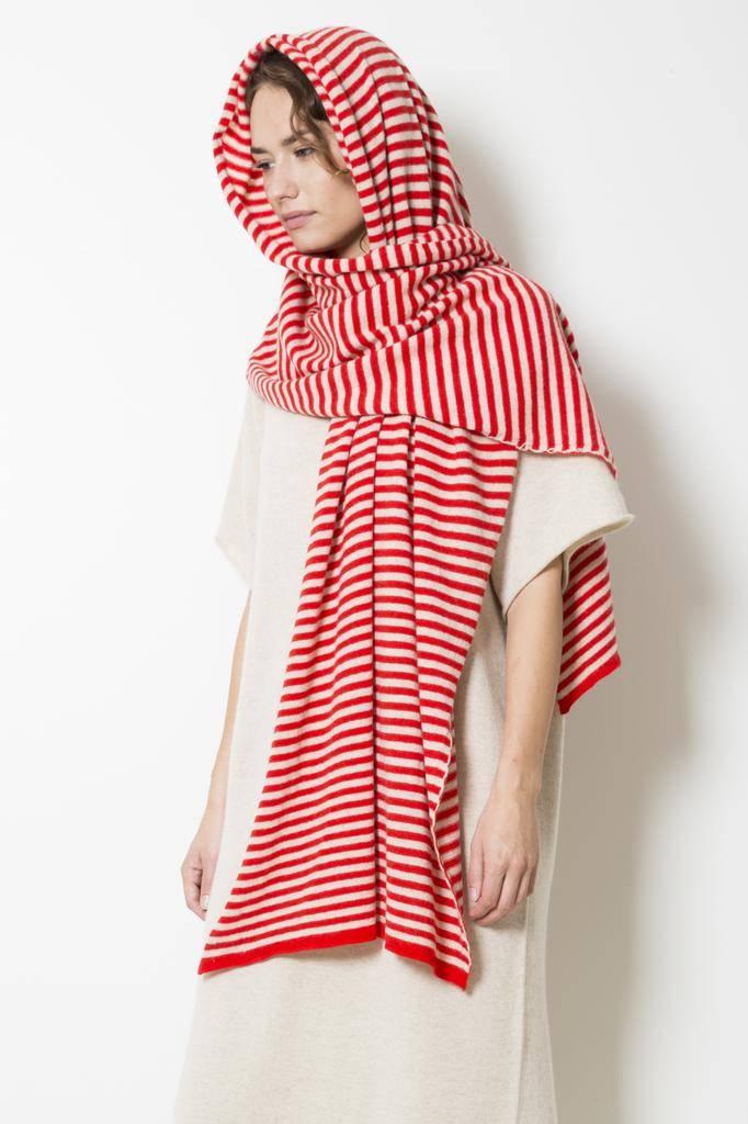 Jo Gordon 1cm stripe shawl