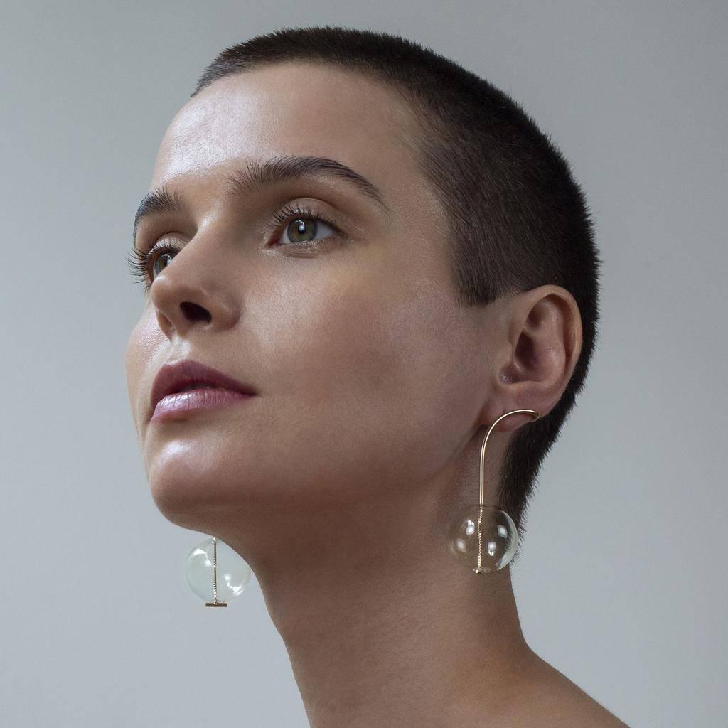 Annika Inez Gossamer Drop Earrings