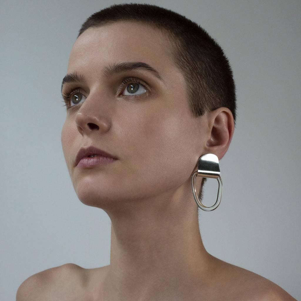 Annika Inez SS-Gentle Fold Earrings