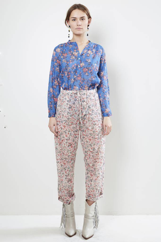 Etoile Isabel Marant ENOA PRINTED COTTON Trouser