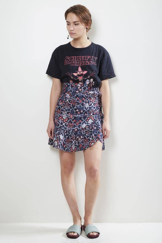 Etoile Isabel Marant TEMPSTER PRINTED LINEN Skirt