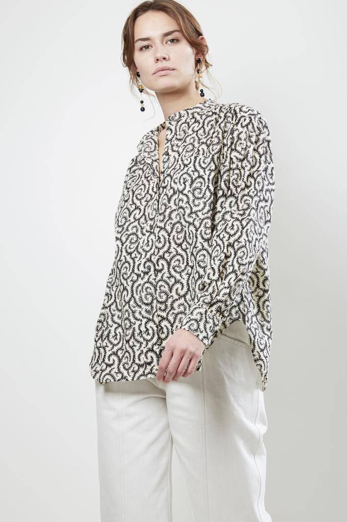 Etoile Isabel Marant MEXIKA PATCHWORK PRINT Shirt