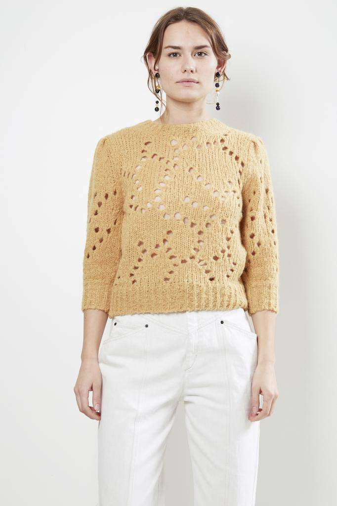 Etoile Isabel Marant SINEAD FLUFFY COLOR KNIT SWEATER