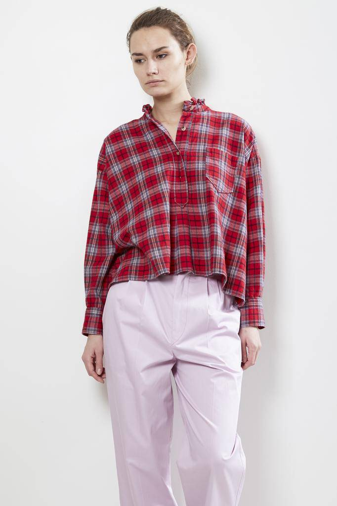 Etoile Isabel Marant DRESDEN CHECKED COTTON Shirt