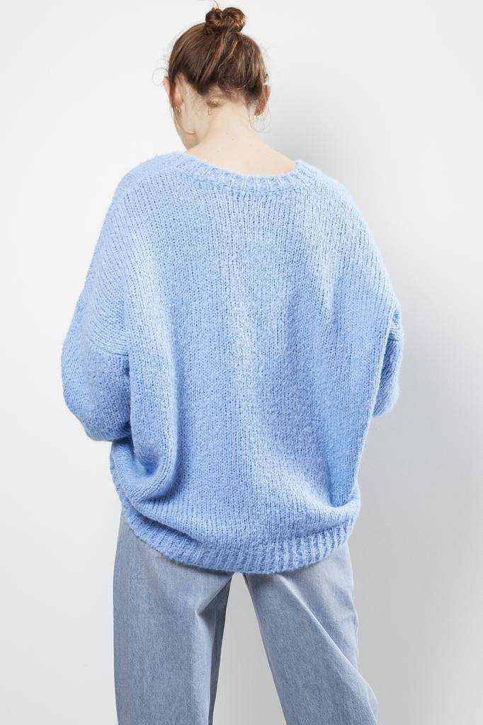 Etoile Isabel Marant SHANA FLUFFY COLOR KNIT SWEATER