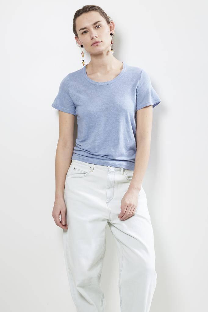 Etoile Isabel Marant - KILIANN LINEN TEE SHIRT