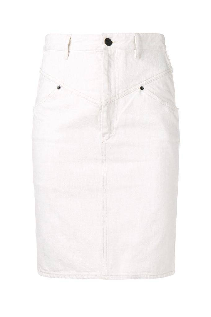 Isabel Marant LORINE CHIC JEANS SKIRT