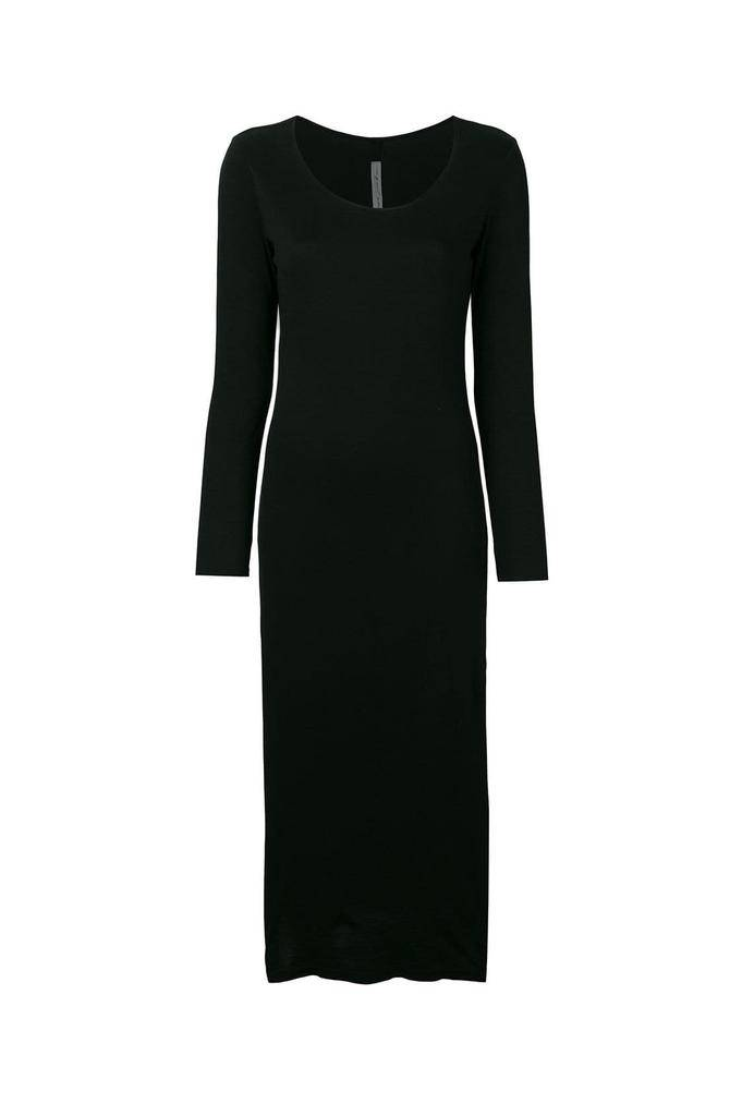 Raquel Allegra fitted long sleeve dress