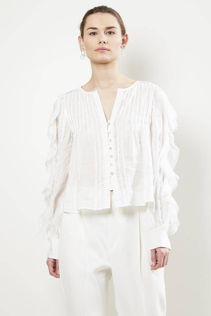 Isabel Marant ROMNEY MADONNA LACE TOP