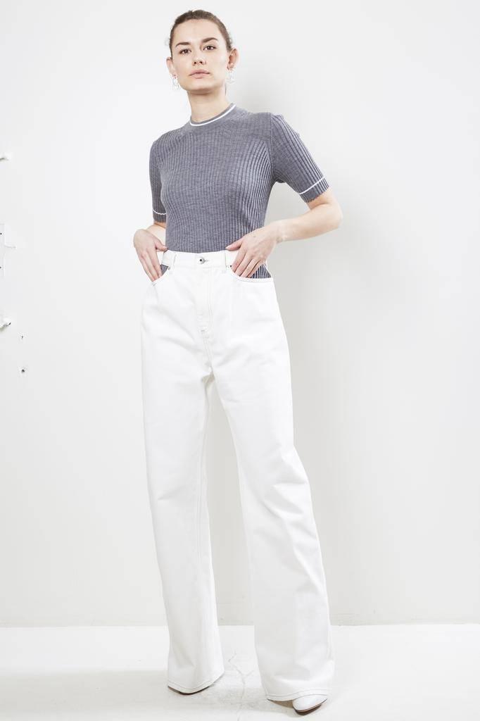 Maison Margiela Canvas Cotton jean
