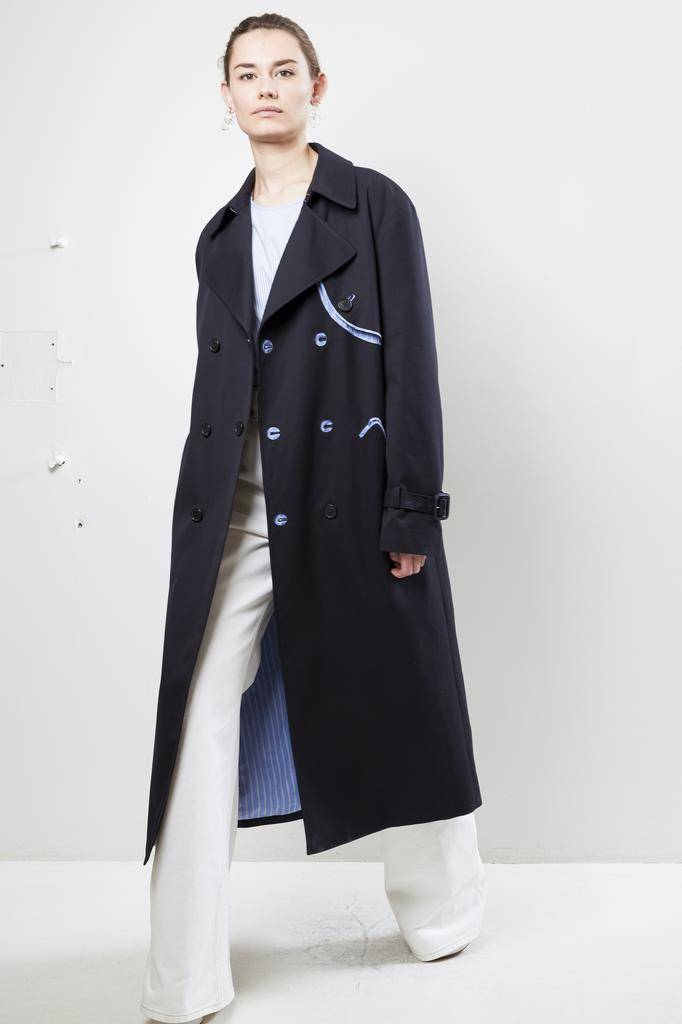 Maison Margiela waterrepellent coat