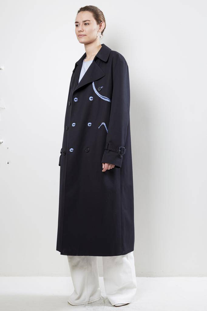 Maison Margiela - waterrepellent coat