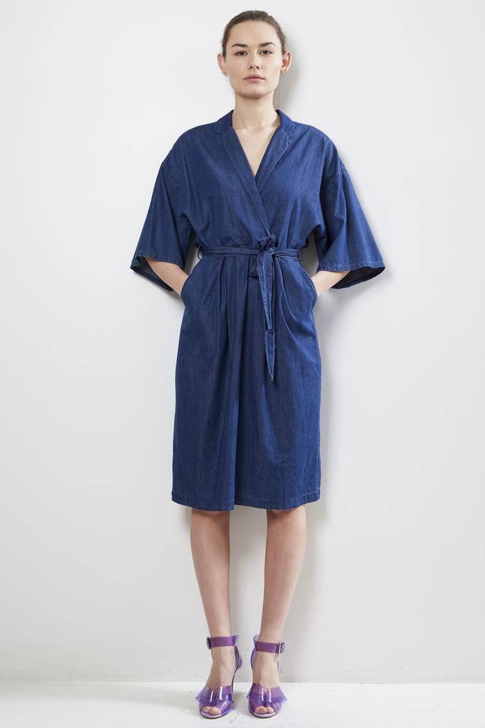 Xirena Quin eastwood chambray dress