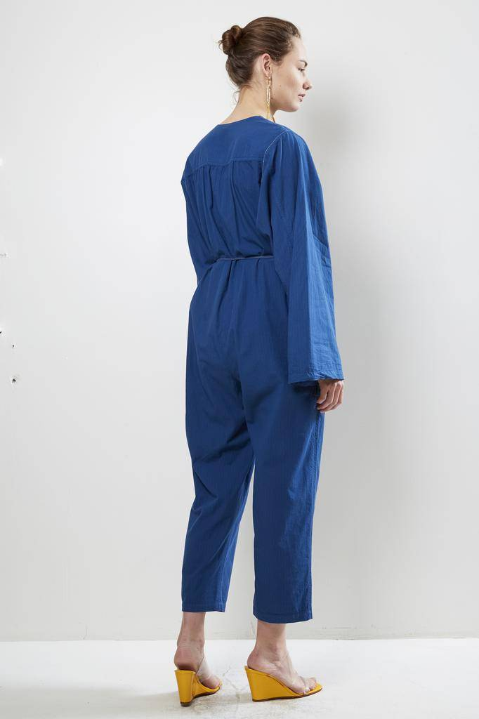 Raquel Allegra - utility cotton stripe boiler suit