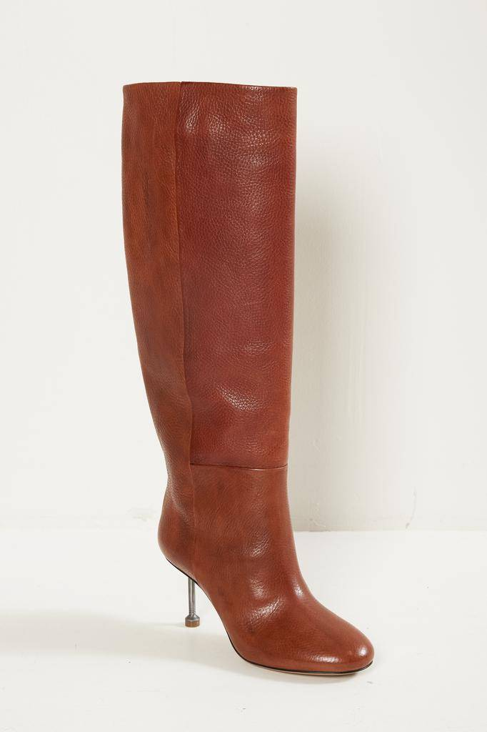 Maison Margiela - long leather boots