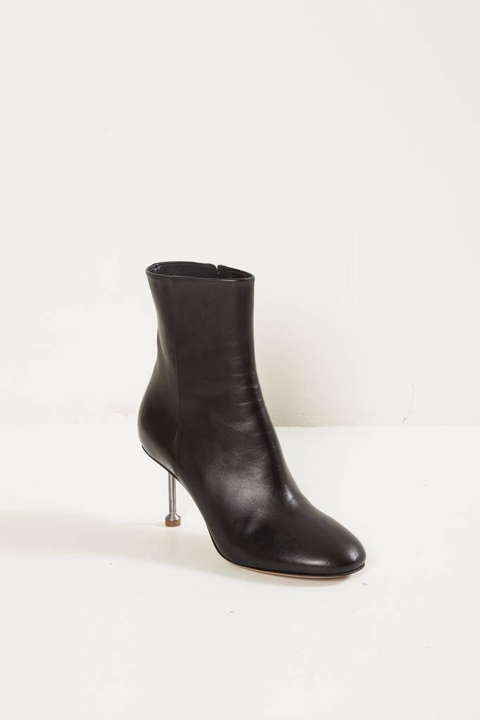 Maison Margiela - short leather boots