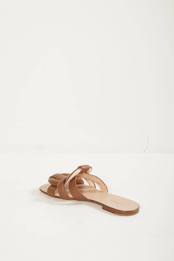 Morobé - robien flat leather sandals