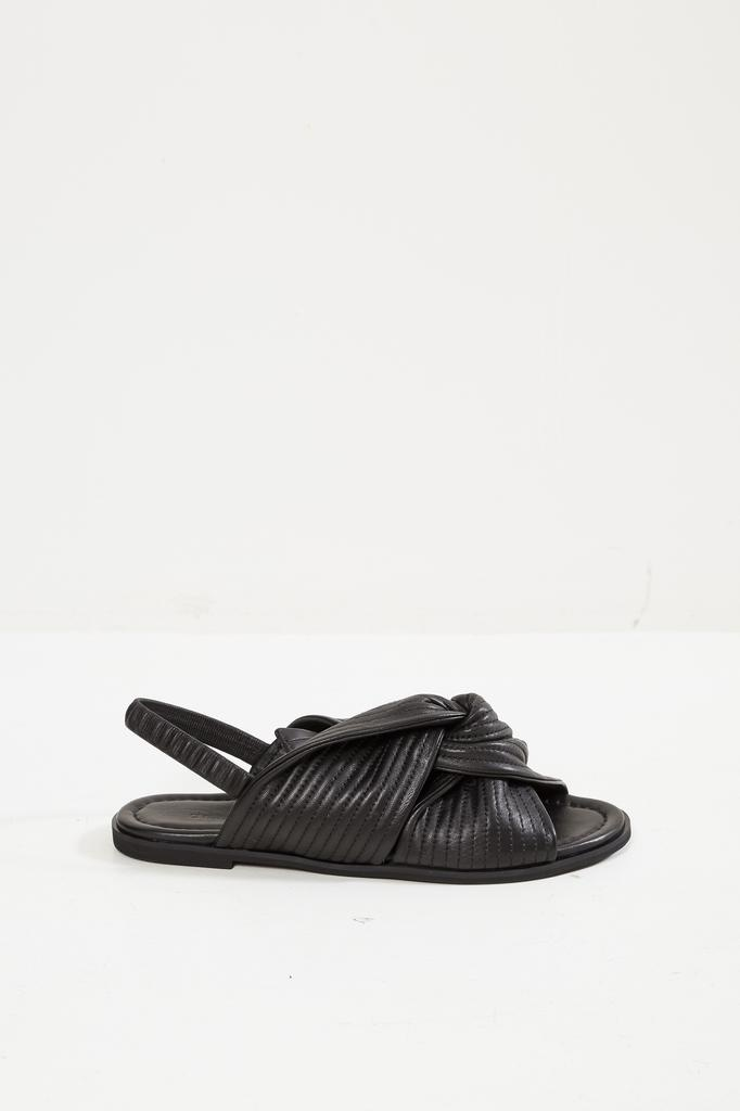 Christian Wijnants AVI LAMBSKIN LEATHER SANDALS