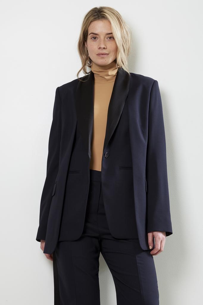 Frenken - surface basic suiting blazer